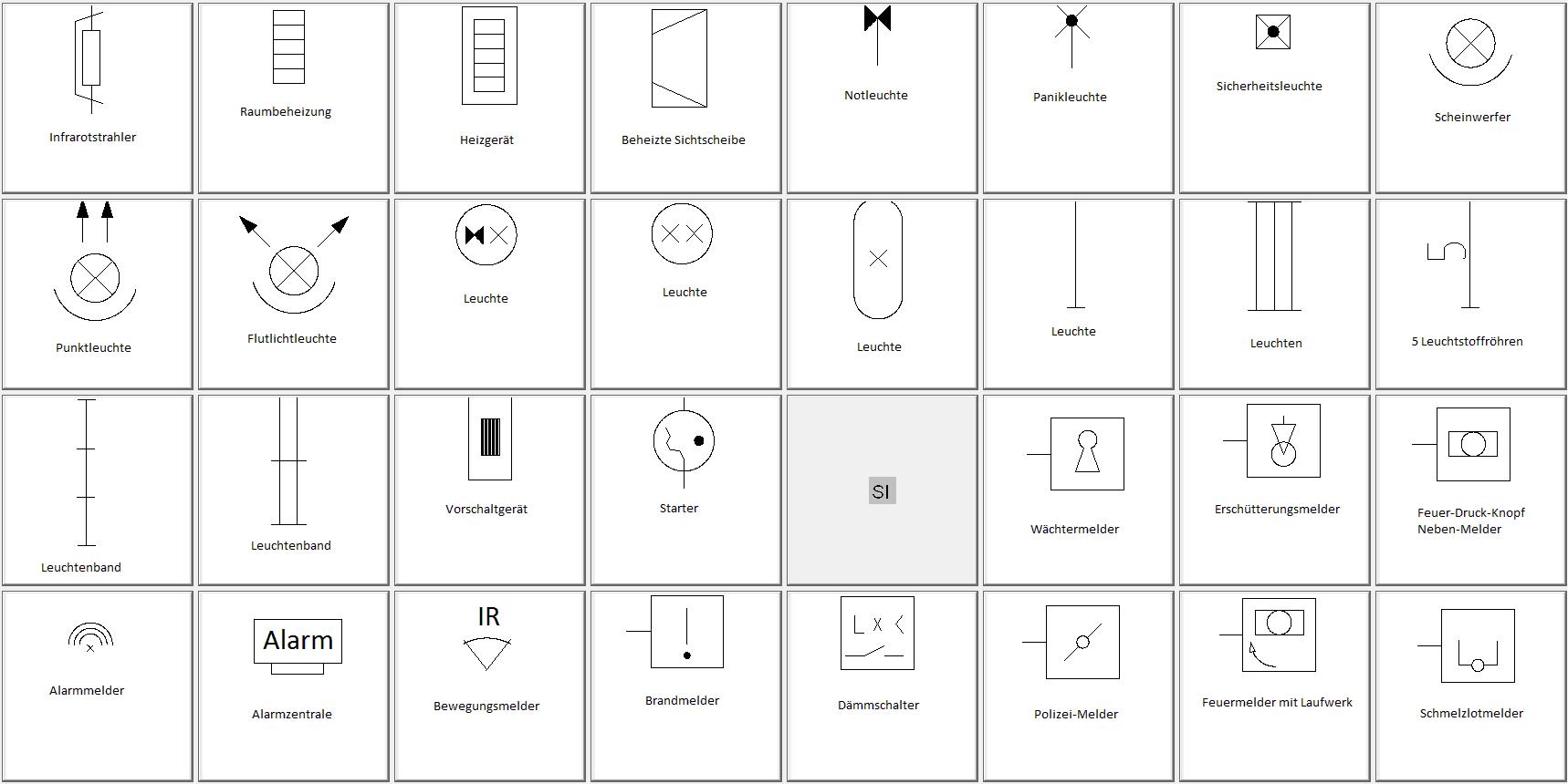 Groß Elektrische Symbole Und Namen Fotos - Die Besten Elektrischen ...
